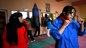 The Boxing Girls of Kabul Image